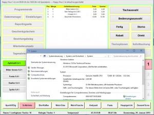 Gastronomie Kassensoftware Bistro-Cash und Windows 10