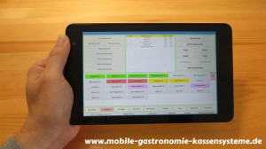 DELL Venue 8 Pro Tablet und Bistro-Cash