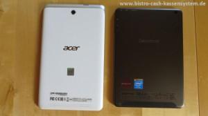 Vergleich Acer und Lenovo Tablet