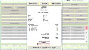 Gastronomie Kassensoftware Bistro-Cash 4.1