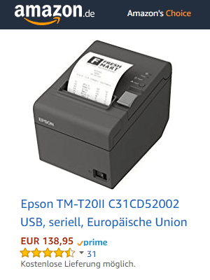Epson-TM-T20II Bondrucker